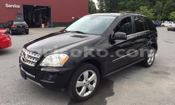 Buy Used Mercedes‒Benz ML–Class Black Car in Kigali in Rwanda