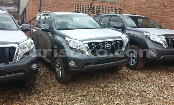Buy New Toyota Land Cruiser Prado Black Car in Kigali in Rwanda