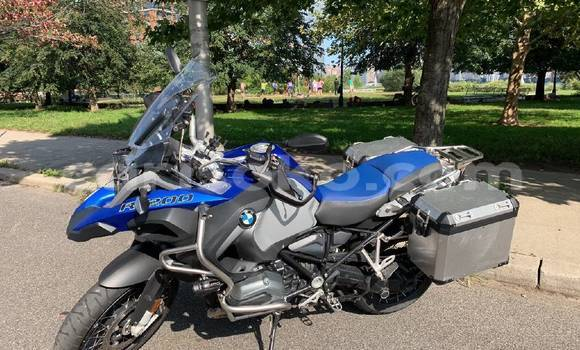 Buy Imported BMW GS Brown Bike in Kigali in Rwanda