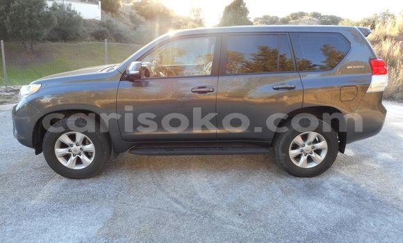 Buy Imported Toyota Land Cruiser Prado Black Car in Kigali in Rwanda