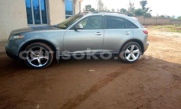 Buy Imported Infiniti FX–Series Silver Car in Kigali in Rwanda