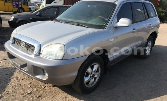 Buy Imported Hyundai Santa Fe Silver Car in Kigali in Rwanda