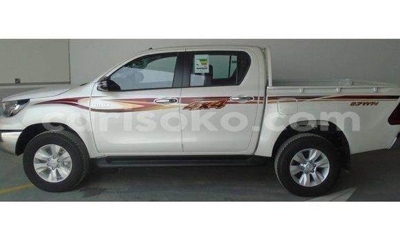 Buy Imported Toyota Hilux White Car in Kigali in Rwanda
