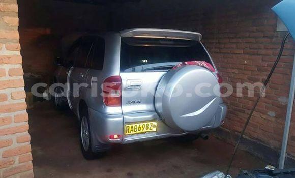 Buy Imported Toyota RAV4 Silver Car in Kigali in Rwanda