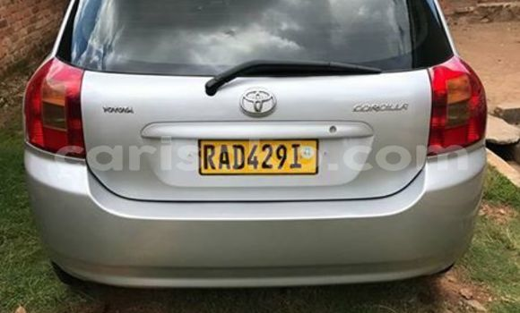 Buy Imported Toyota Corolla Silver Car in Kigali in Rwanda