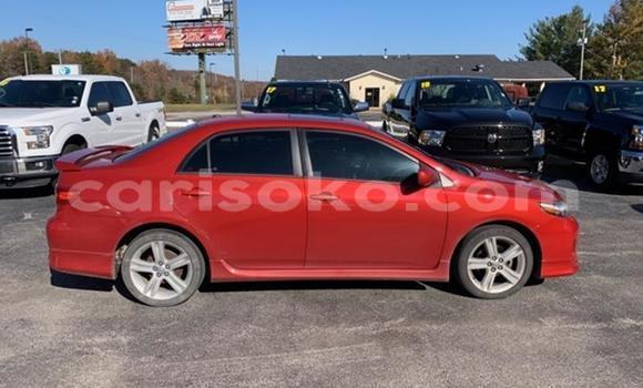 Buy Imported Toyota Corolla Red Car in Kigali in Rwanda