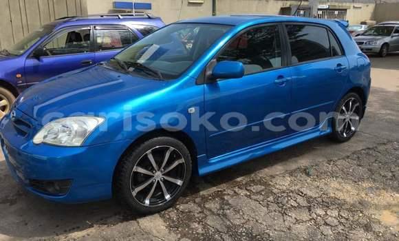 Buy Import Toyota Corolla Blue Car in Kigali in Rwanda