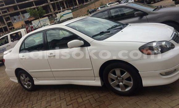 Gura Yakoze Toyota Corolla Black Imodoka i Gicumbi mu Rwanda