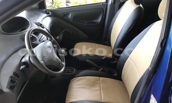 Buy Used Toyota Echo Blue Car in Kigali in Rwanda