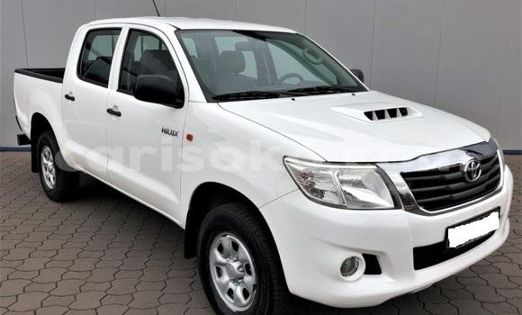 Buy Import Toyota Hilux White Car in Kigali in Rwanda