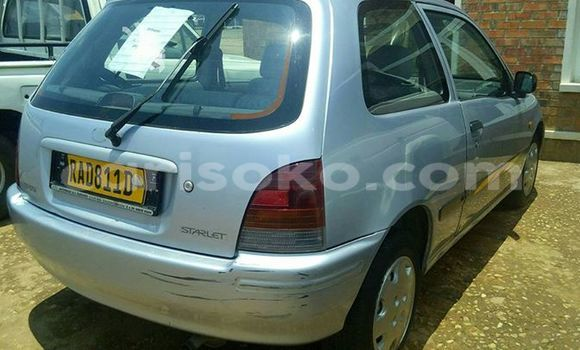Buy Used Toyota Starlet Black Car in Gicumbi in Rwanda