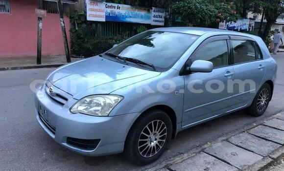 Buy Used Toyota Runx Blue Car in Kigali in Rwanda