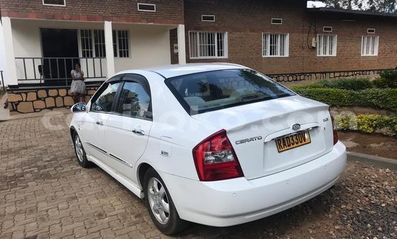 Buy Used Kia Cerato White Car in Kigali in Rwanda