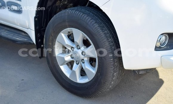 Buy Import Toyota Prado White Car in Import - Dubai in Rwanda