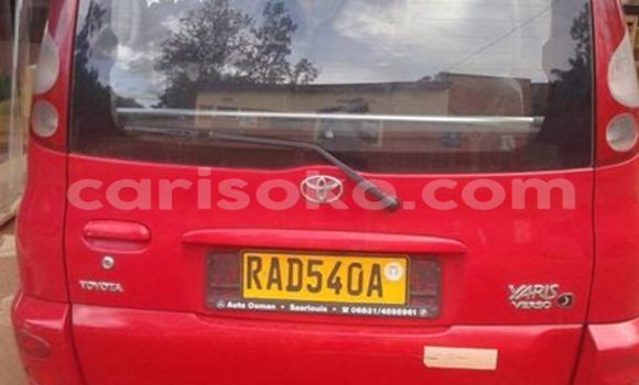 Buy Used Toyota Yaris Red Car in Gicumbi in Rwanda