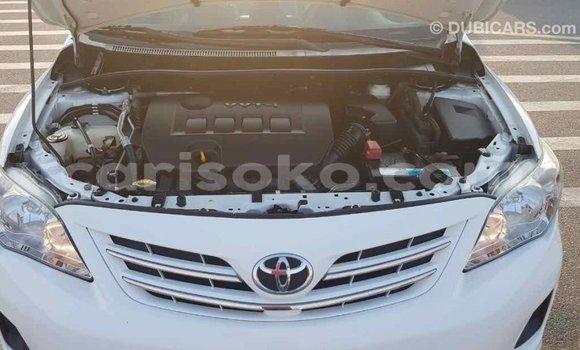 Buy Import Toyota Corolla White Car in Import - Dubai in Rwanda