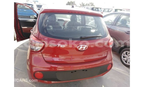 Buy Import Hyundai i10 Red Car in Import - Dubai in Rwanda