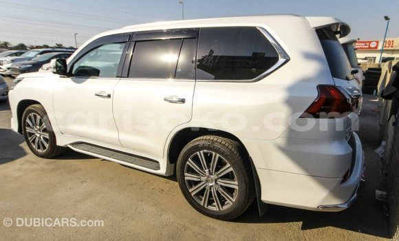Buy Import Lexus LX White Car in Import - Dubai in Rwanda