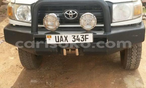 Buy New Toyota Land Cruiser White Car in Kigali in Rwanda
