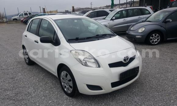 Buy Used Toyota Yaris White Car in Bokwango in Rwanda
