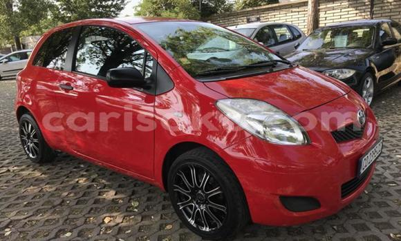 Buy Used Toyota Yaris Red Car in Bokwango in Rwanda