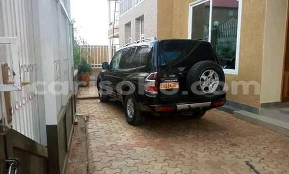 Buy Used Mitsubishi Pajero Black Car in Kigali in Rwanda