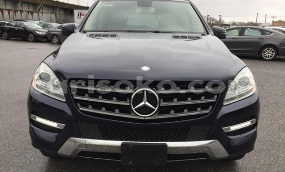 Buy Import Mercedes-Benz M-klasse Black Car in Kigali in Rwanda