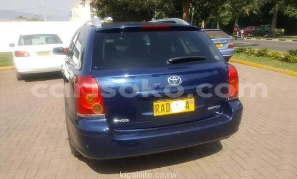 Buy Used Toyota Avensis Blue Car in Kigali in Rwanda