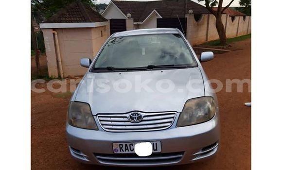 Gura Yakoze Toyota Corolla Silver Imodoka i Kigali mu Rwanda