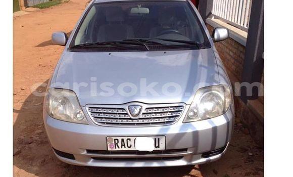 Buy Used Toyota Allex Silver Car in Kigali in Rwanda