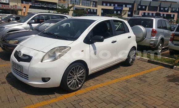 Buy Used Toyota Yaris White Car in Kigali in Rwanda