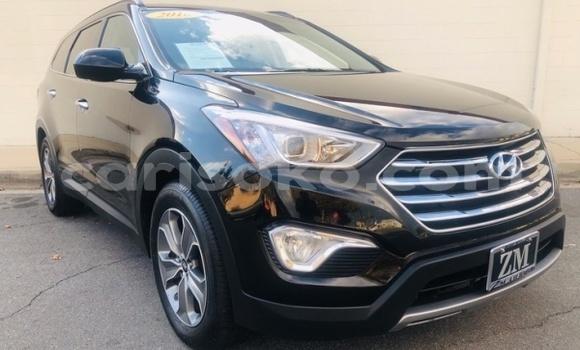 Buy Import Hyundai Santa Fe Black Car in Kigali in Rwanda