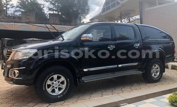 Buy Used Toyota Hilux Black Car in Kigali in Rwanda