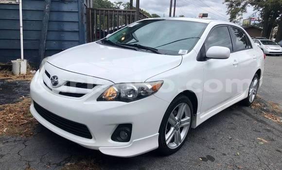 Buy Used Toyota Corolla White Car in Kigali in Rwanda