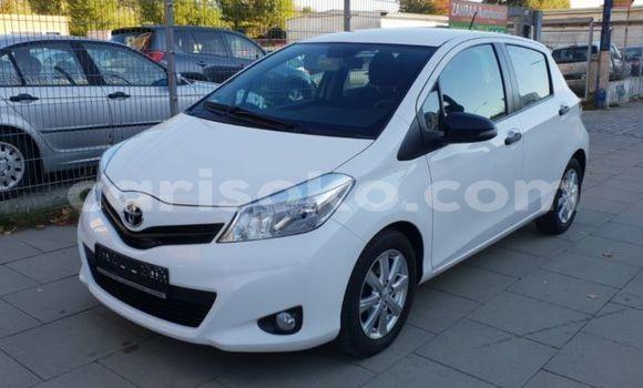 Buy Import Toyota Yaris White Car in Kigali in Rwanda