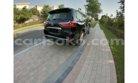 Buy Import Lexus LX Black Car in Import - Dubai in Rwanda
