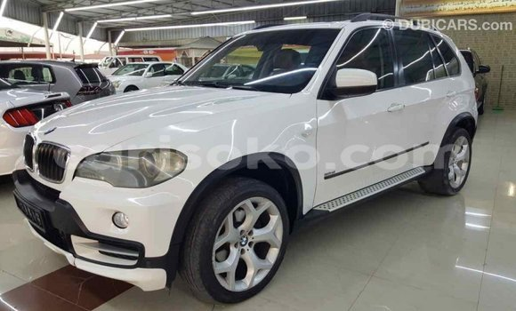 Buy Import BMW X5 White Car in Import - Dubai in Rwanda