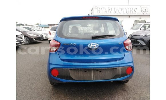 Buy Import Hyundai i10 Blue Car in Import - Dubai in Rwanda