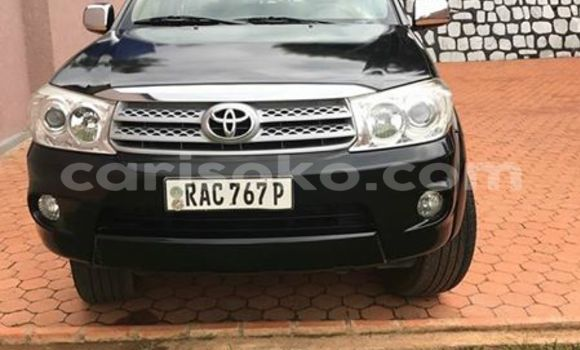 Buy Used Toyota Fortuner Black Car in Gicumbi in Rwanda
