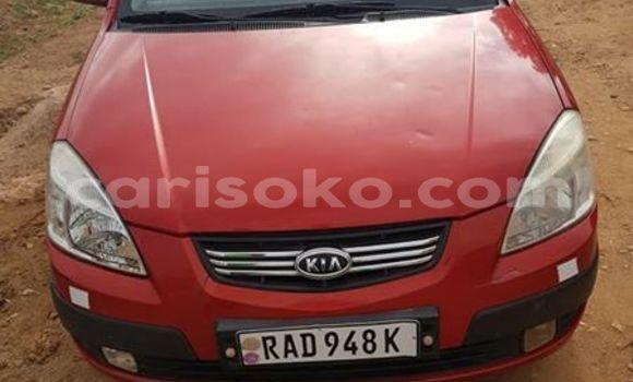 Buy Used Kia Pride Red Car in Kigali in Rwanda