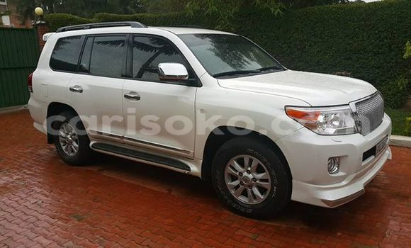 Buy Used Toyota Land Cruiser White Car in Gicumbi in Rwanda