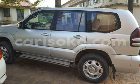 Buy Used Toyota Land Cruiser Prado Silver Car in Kigali in Rwanda