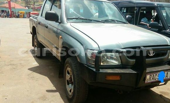 Buy Used Toyota Hilux Silver Car in Gicumbi in Rwanda