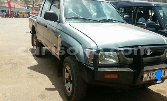 Acheter Occasion Voiture Toyota Hilux Gris à Gicumbi au Rwanda