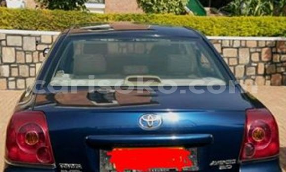 Buy Used Toyota Avensis Blue Car in Gicumbi in Rwanda