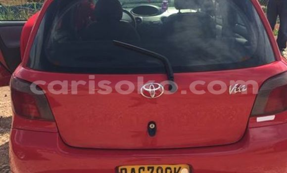 Buy Used Toyota Vitz Red Car in Gicumbi in Rwanda