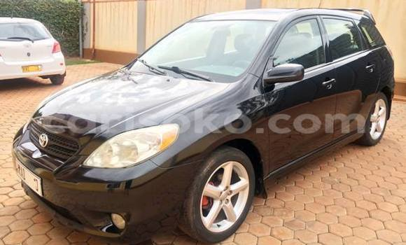 Buy Used Toyota Matrix Black Car in Gicumbi in Rwanda