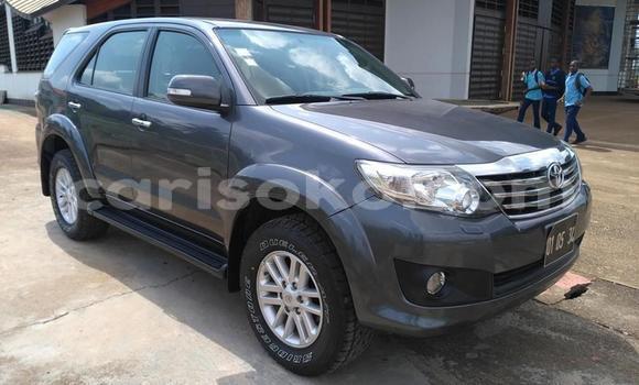 Buy Used Toyota Fortuner Black Car in Kigali in Rwanda