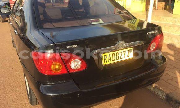 Acheter Occasions Voiture Toyota Corolla Noir à Gicumbi au Rwanda