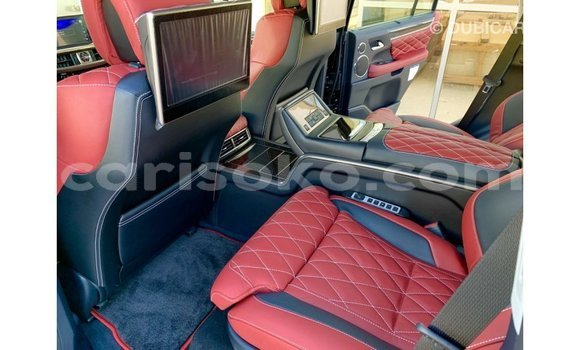Buy Import Lexus LX White Car in Import - Dubai in Rwanda